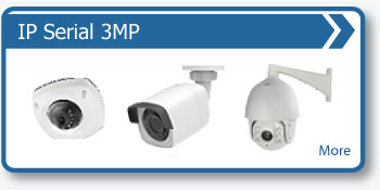 3MP HD IP CCTV Cameras